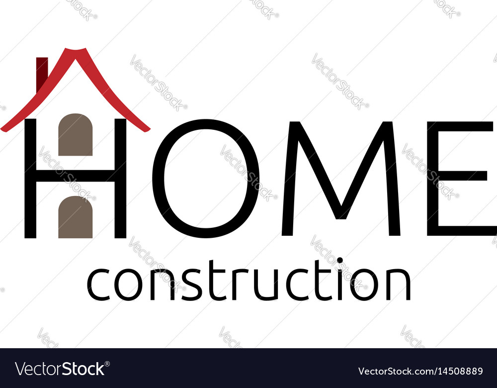 Abstract house symbol vector image