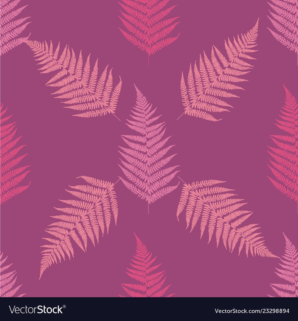 Fern seamless pattern