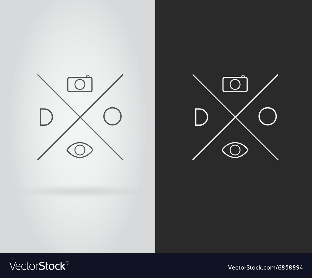 Logo Icon Design Template Elements in Letter