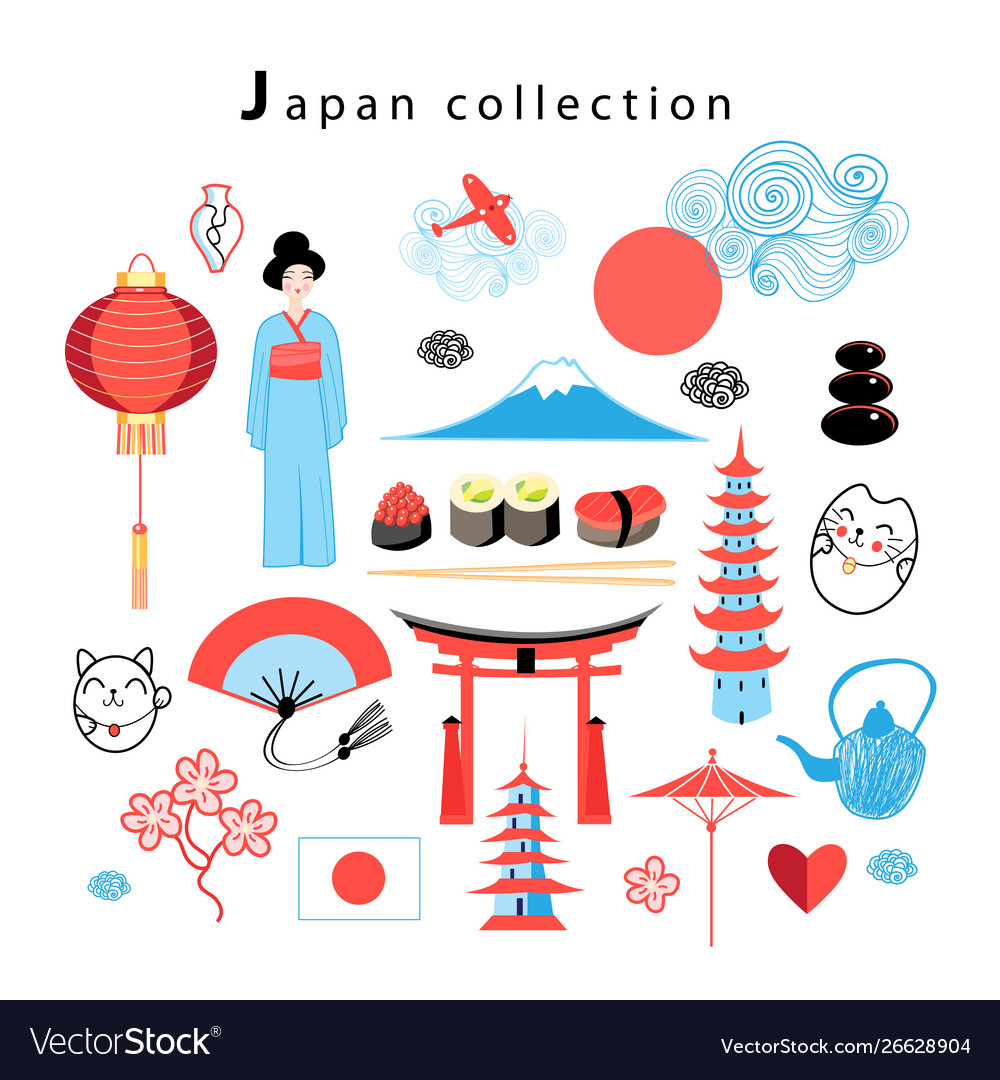 Graphic set japan