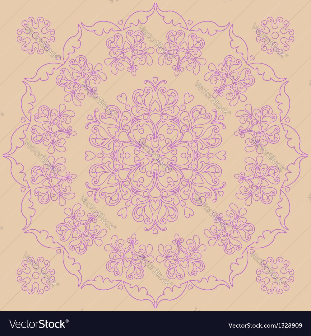 Circular pattern - irises