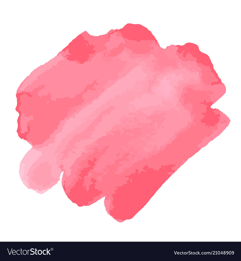 Watercolor brush strokes pink aquarelle abstract