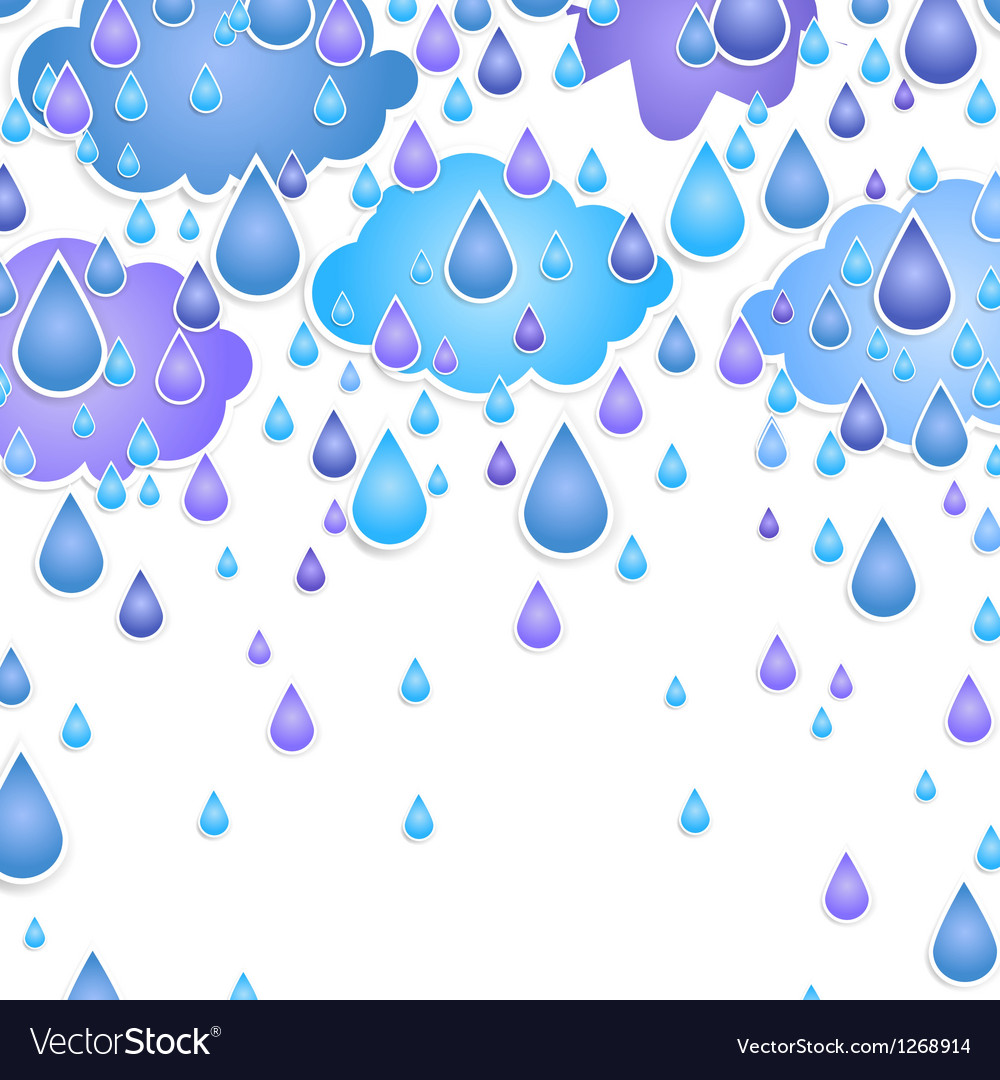 Background for text with drops vector image