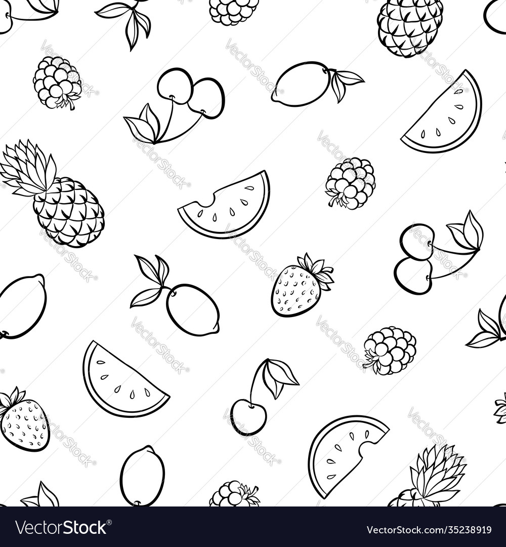 Beautiful seamless pattern with cute doodle