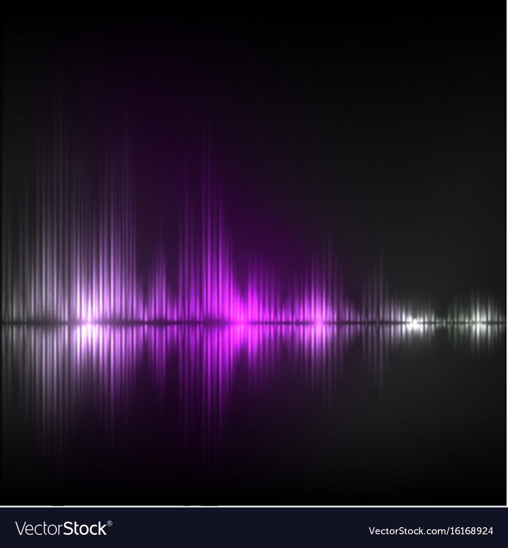 Abstract equalizer background violet wave