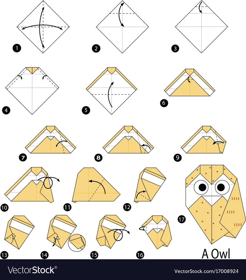 Paper Owl - Origami Owl tutorial - DIY (Henry Phạm) - YouTube | 1080x952