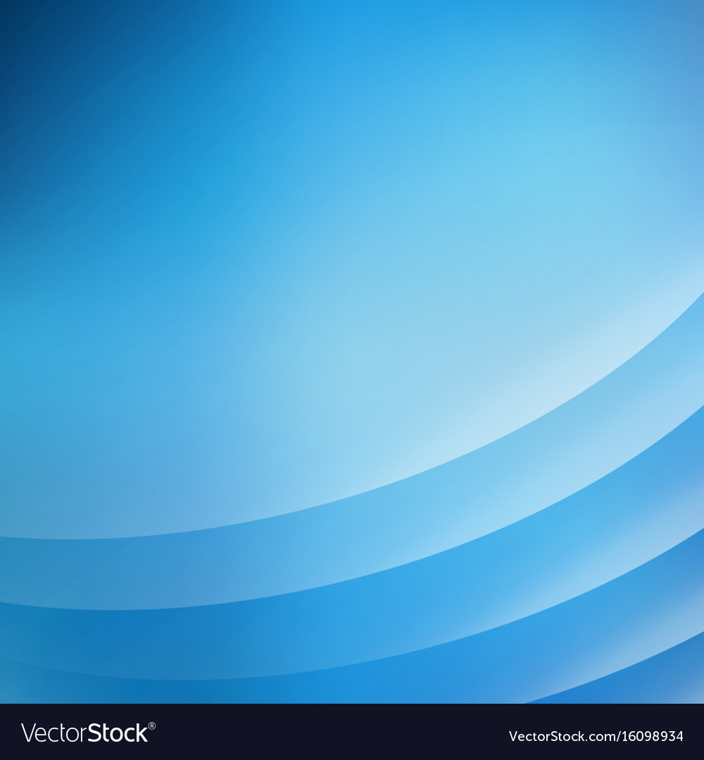Abstract blue background with curve lines smooth