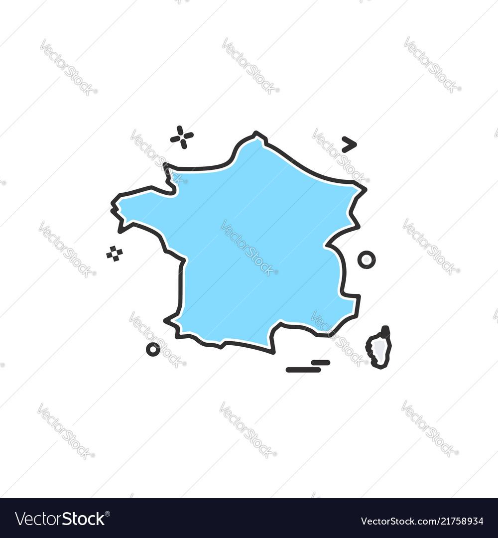 France icon design