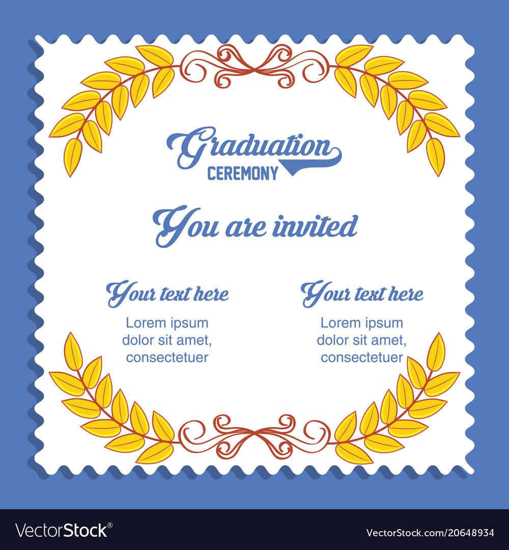 Graduation card invitation icon royalty free vector image graduation card invitation icon vector image stopboris Choice Image