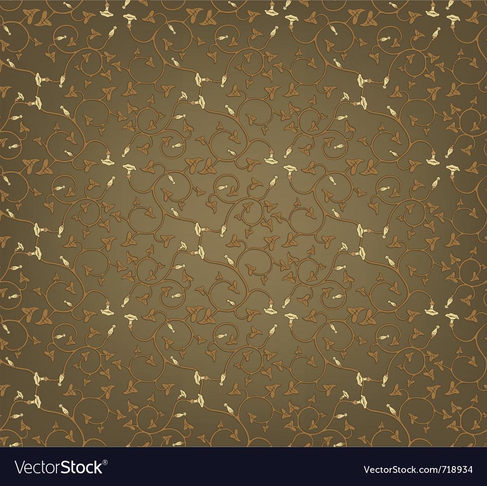 Pattern flowers wallpaper