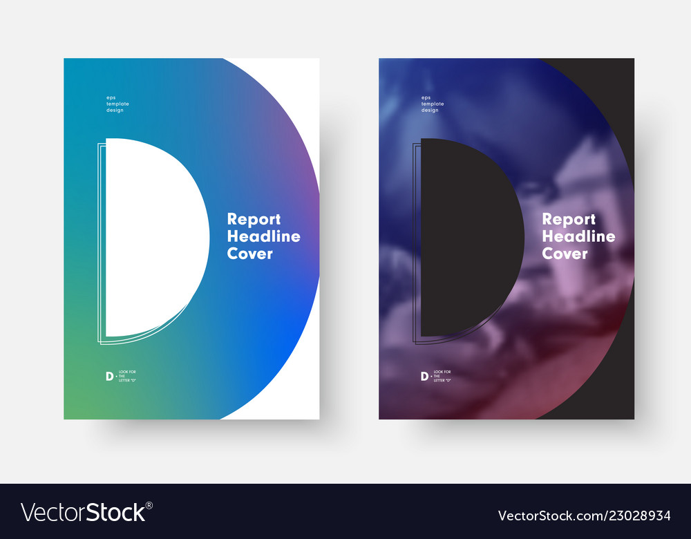 Place for photo and soft gradient