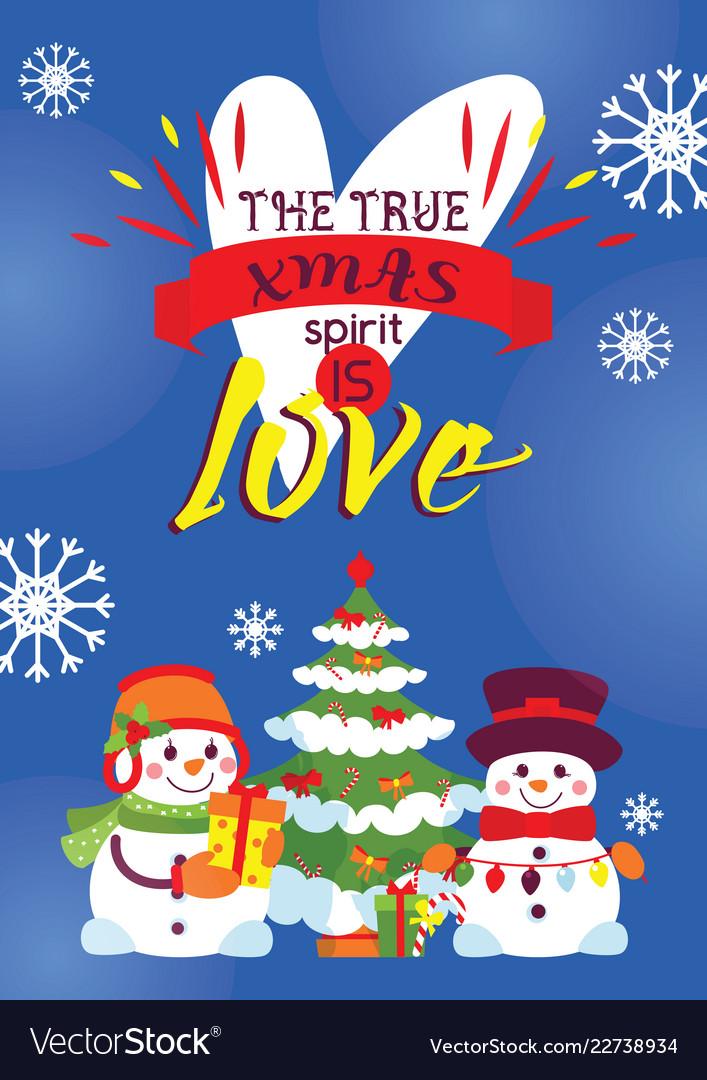 Snowman card merry christmas greeting