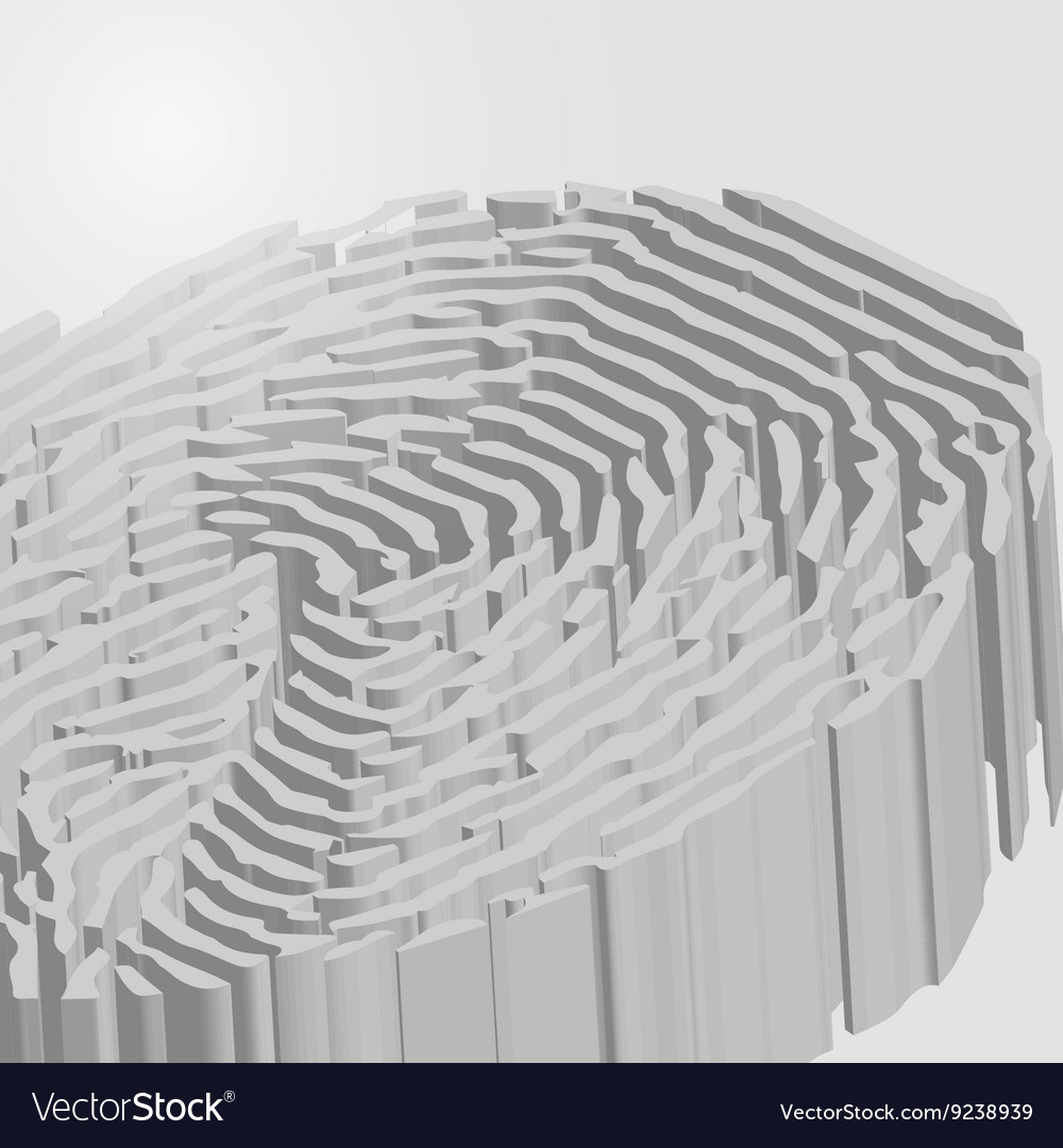 Fingerprint in 3d