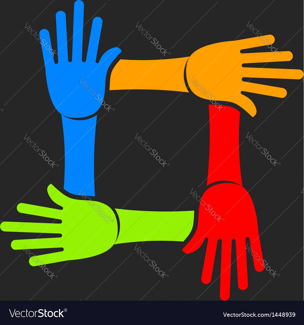 Four Hands Team Logo