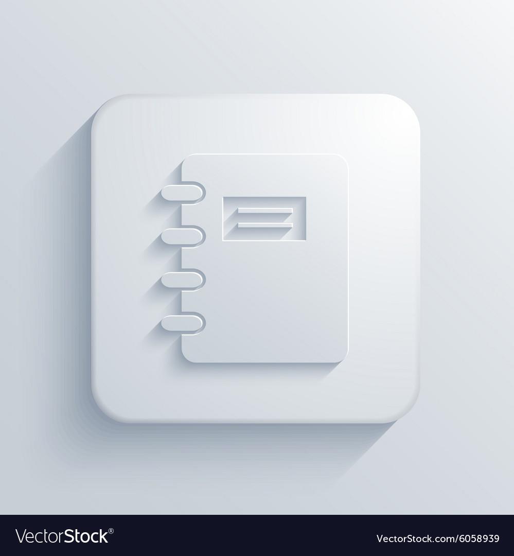 Modern document light icon