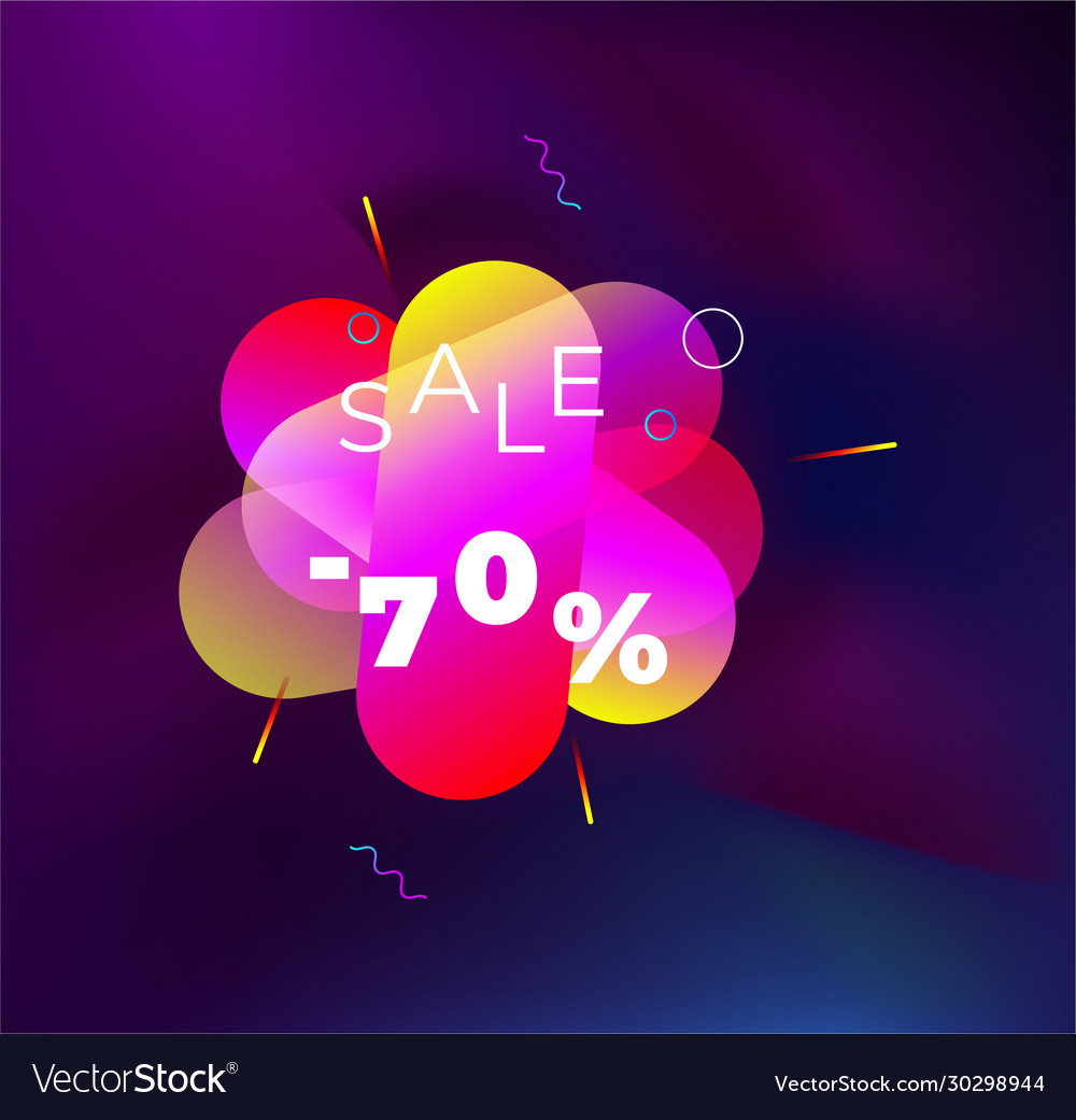 Abstract origami colorful 3d icon logo isolated