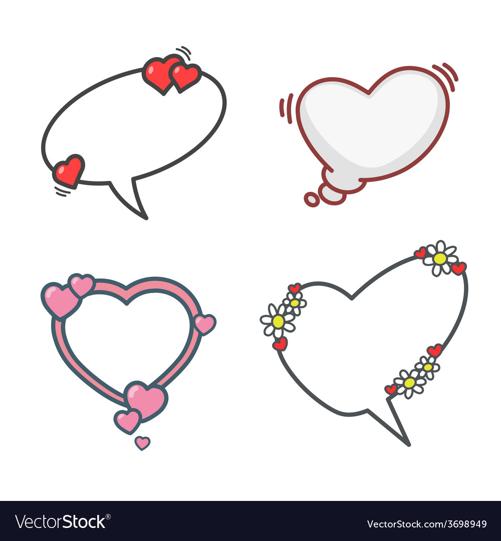 Valentines Day Elements Set 01 Royalty Free Vector Image