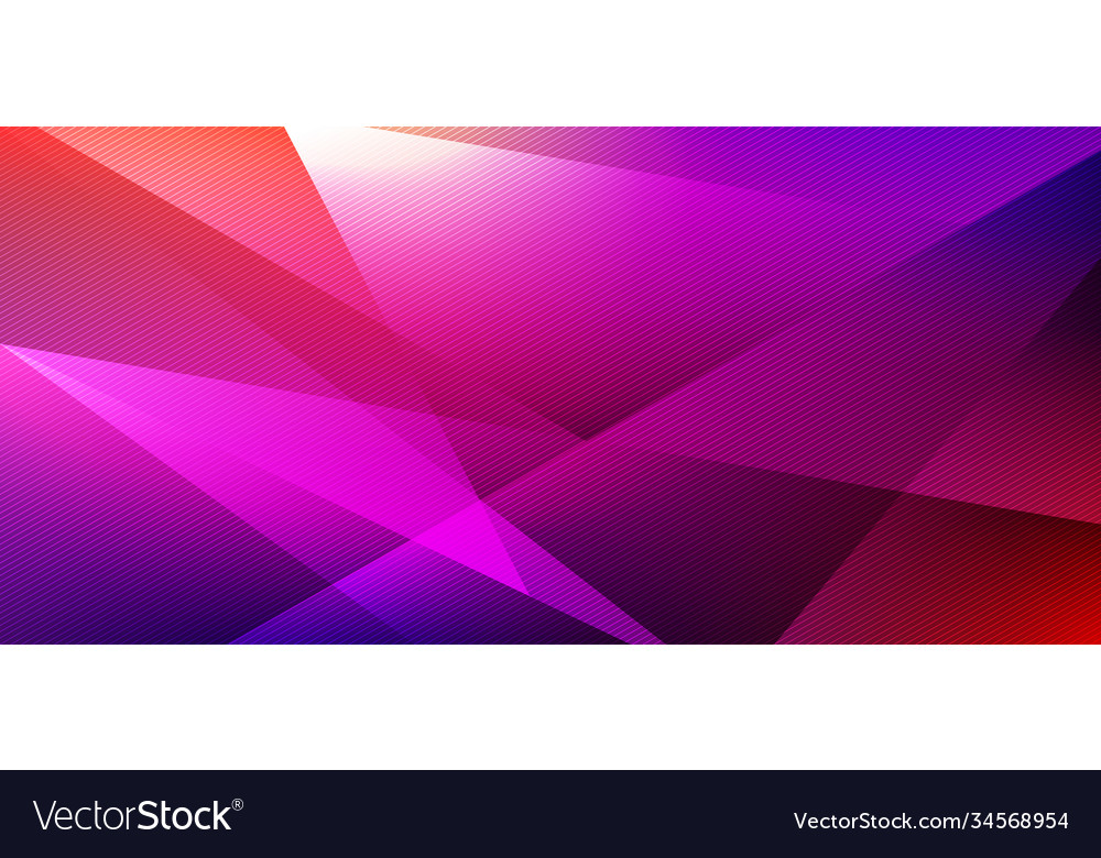 Abstract low polygon geometric shape vibrant