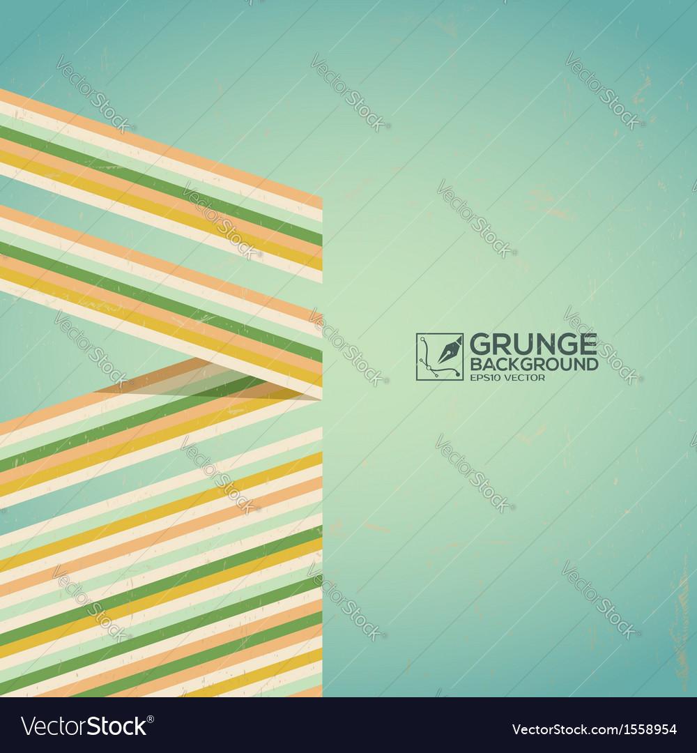 Multicolor grunge background vintage poster