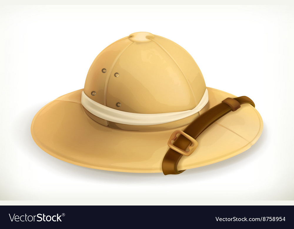 Pith helmet icon