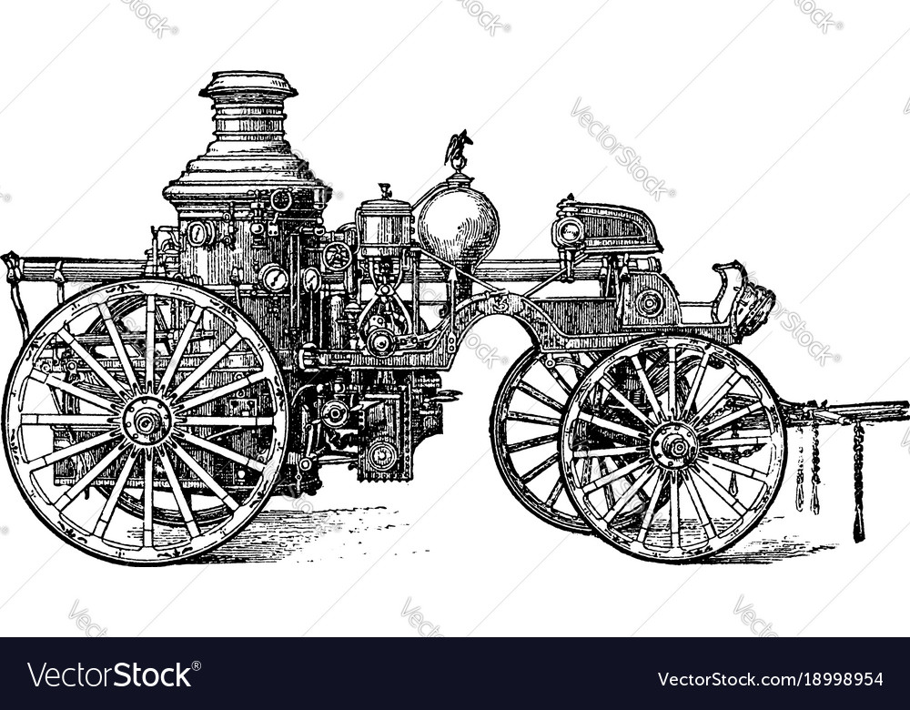Steam engine vintage