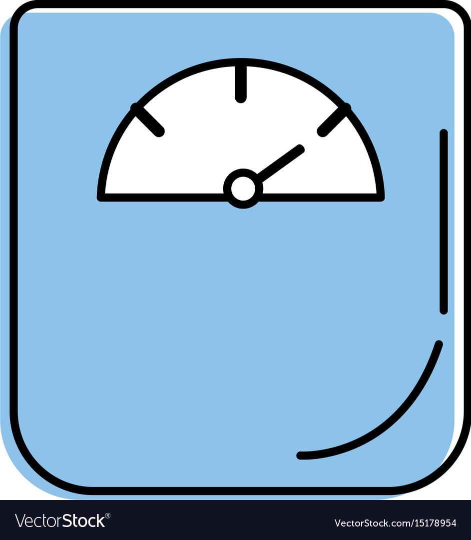 Weight machine instrument to measure of kilogram