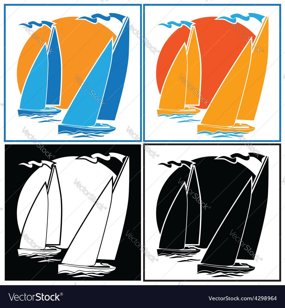 Sailing set