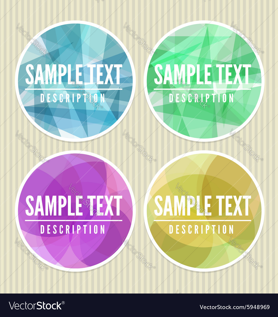 Abstract labels