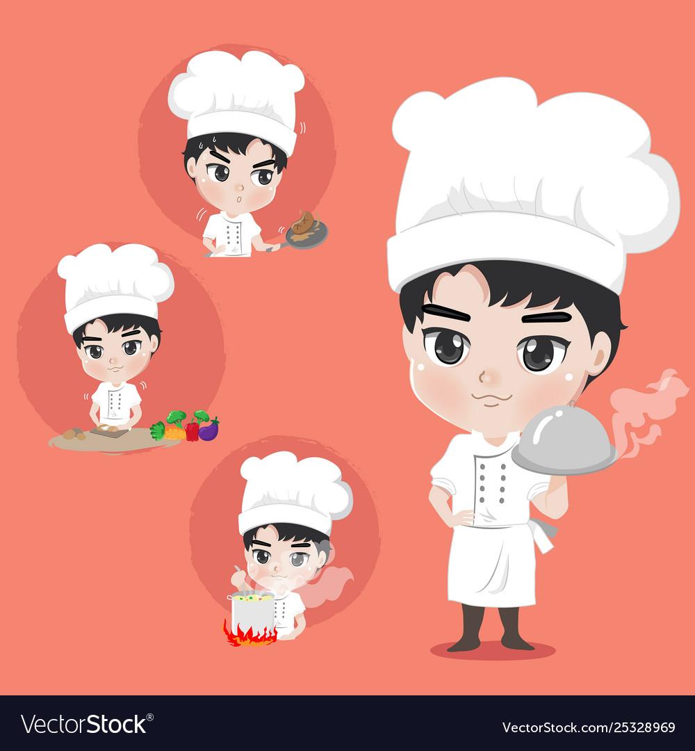 Chef boy action