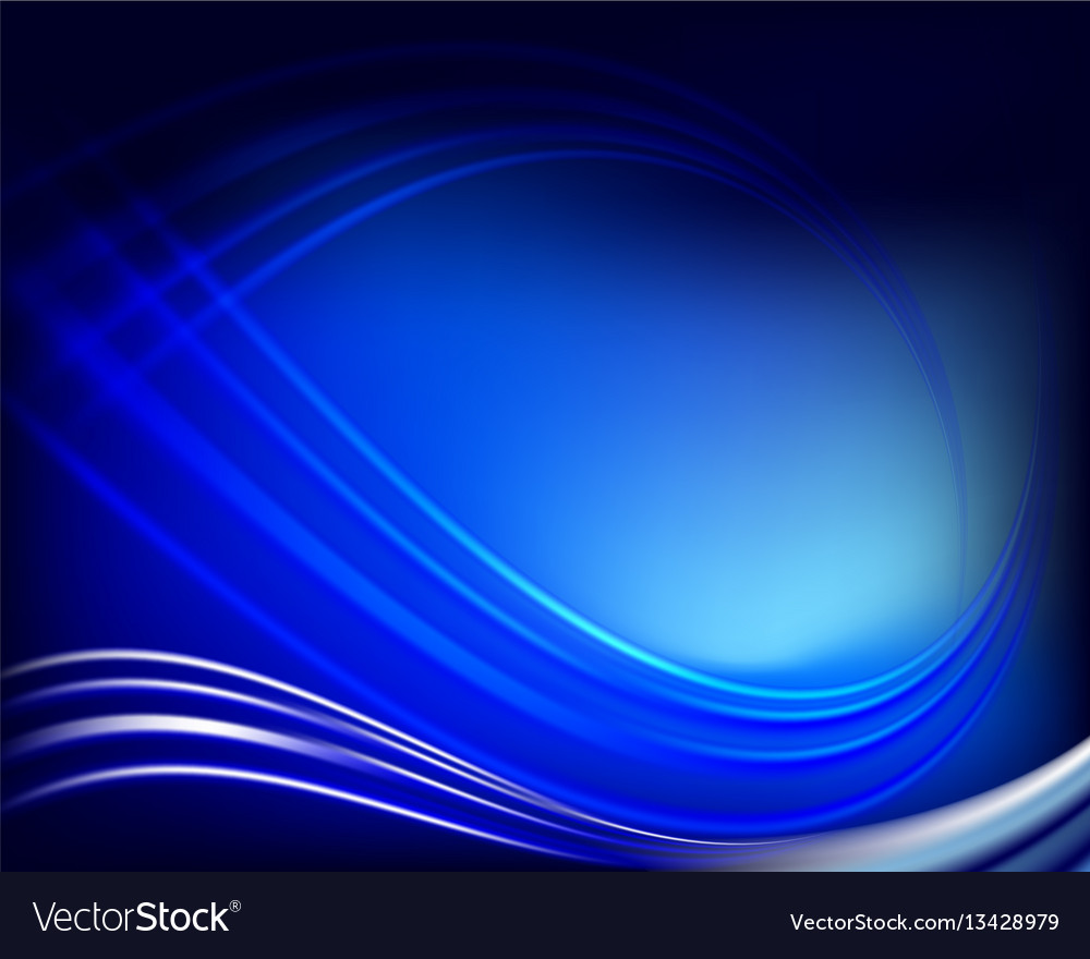 Abstract Dark Blue Background Royalty Free Vector Image