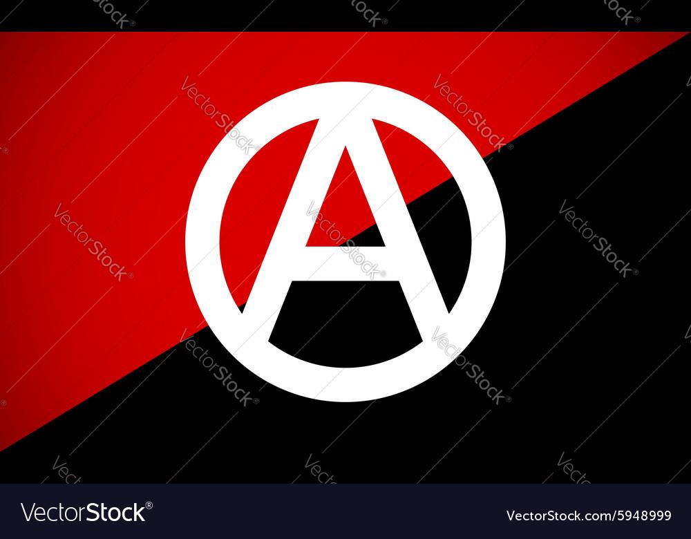 Anarchy Symbol Royalty Free Vector Image Vectorstock