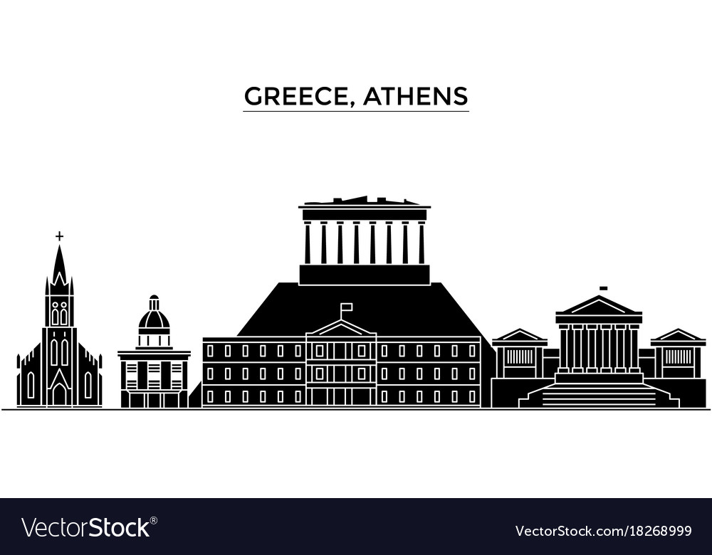 Greece athens architecture city skyline