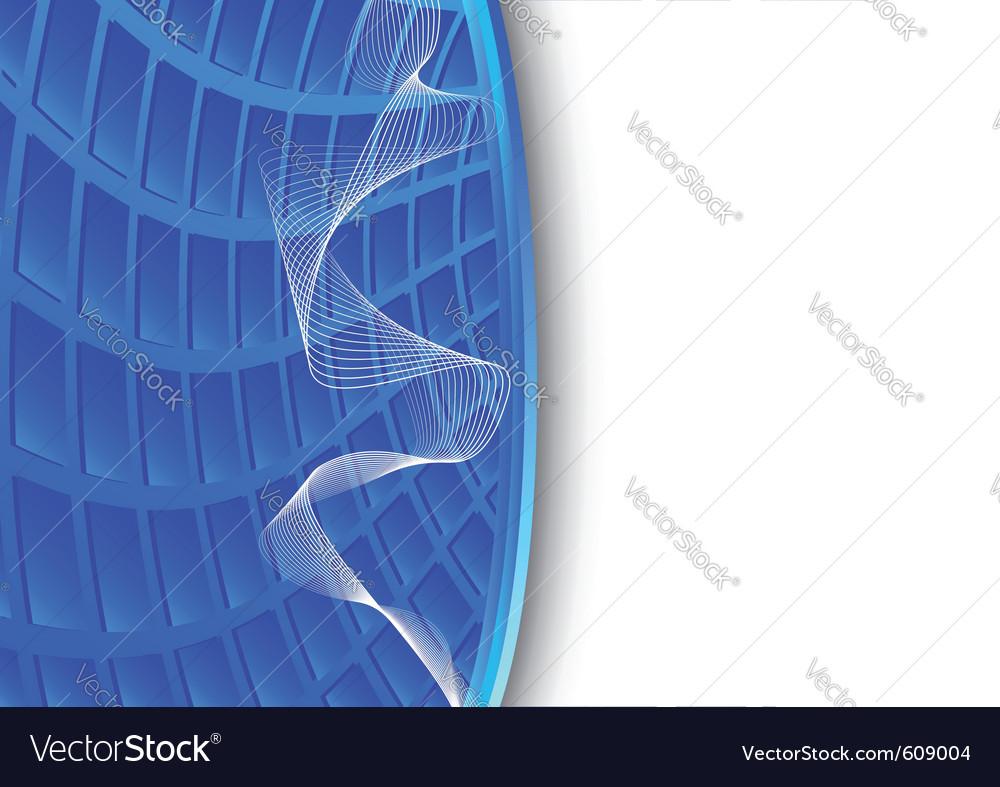 Blue high-tech background