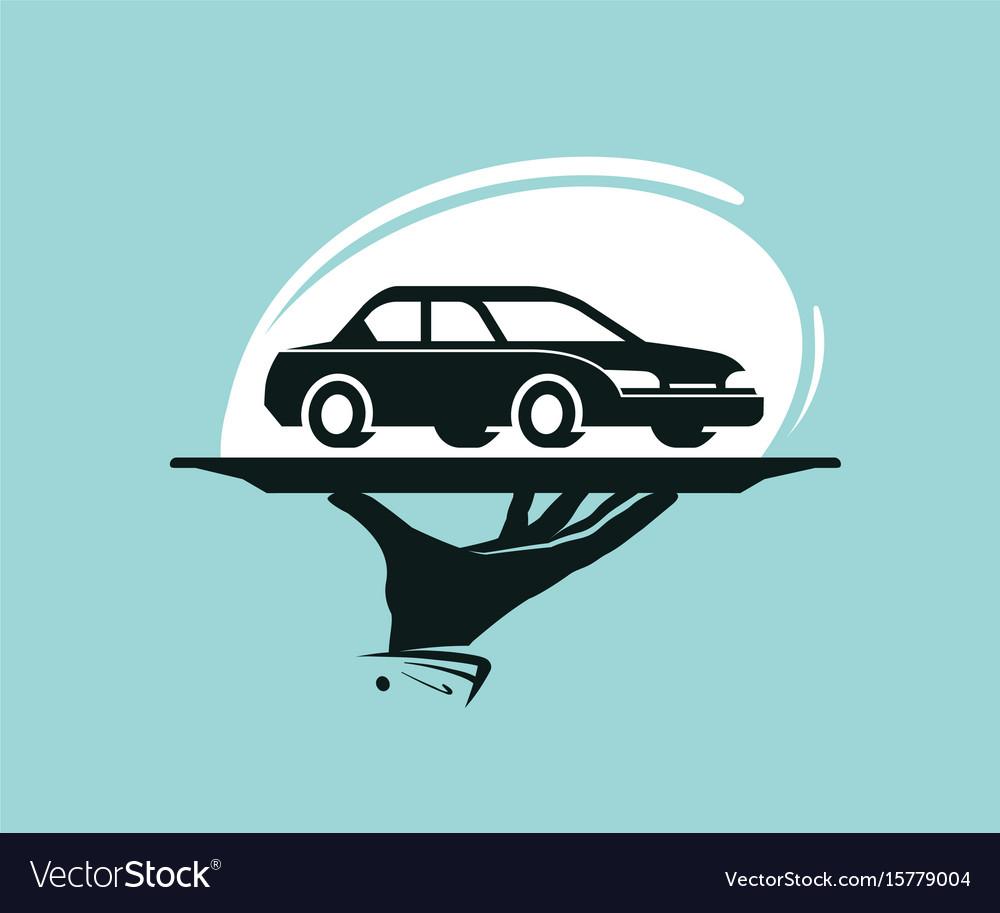 Car Wash Dealership Dealer Vector Image