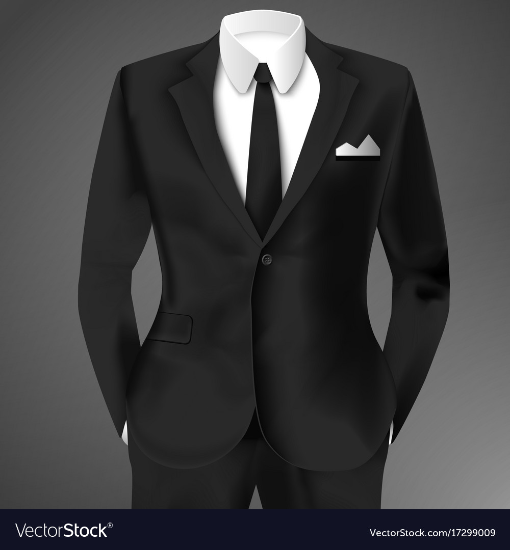 Business suit template royalty free vector image business suit template vector image maxwellsz