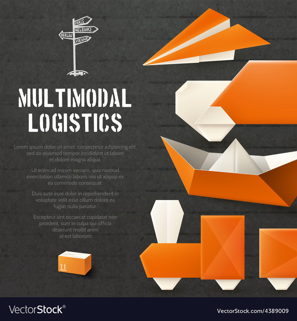 Origami Logistic Background