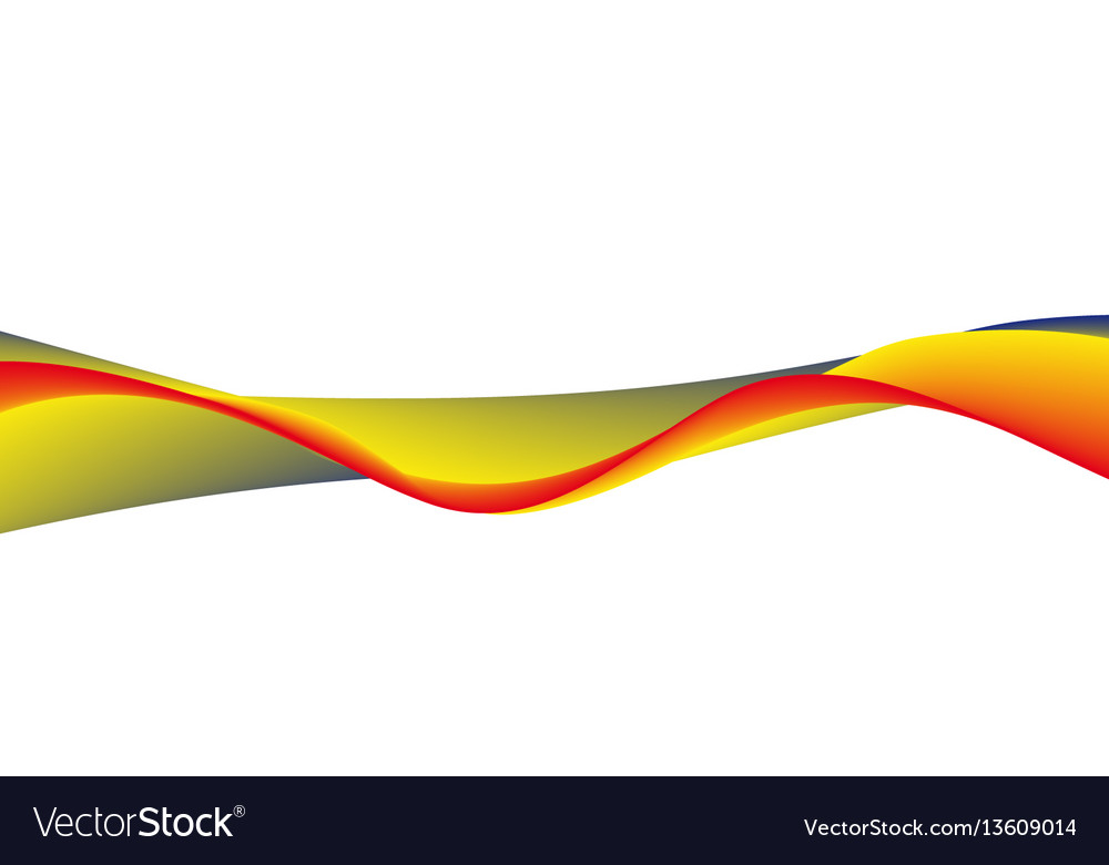 Wavy wide line
