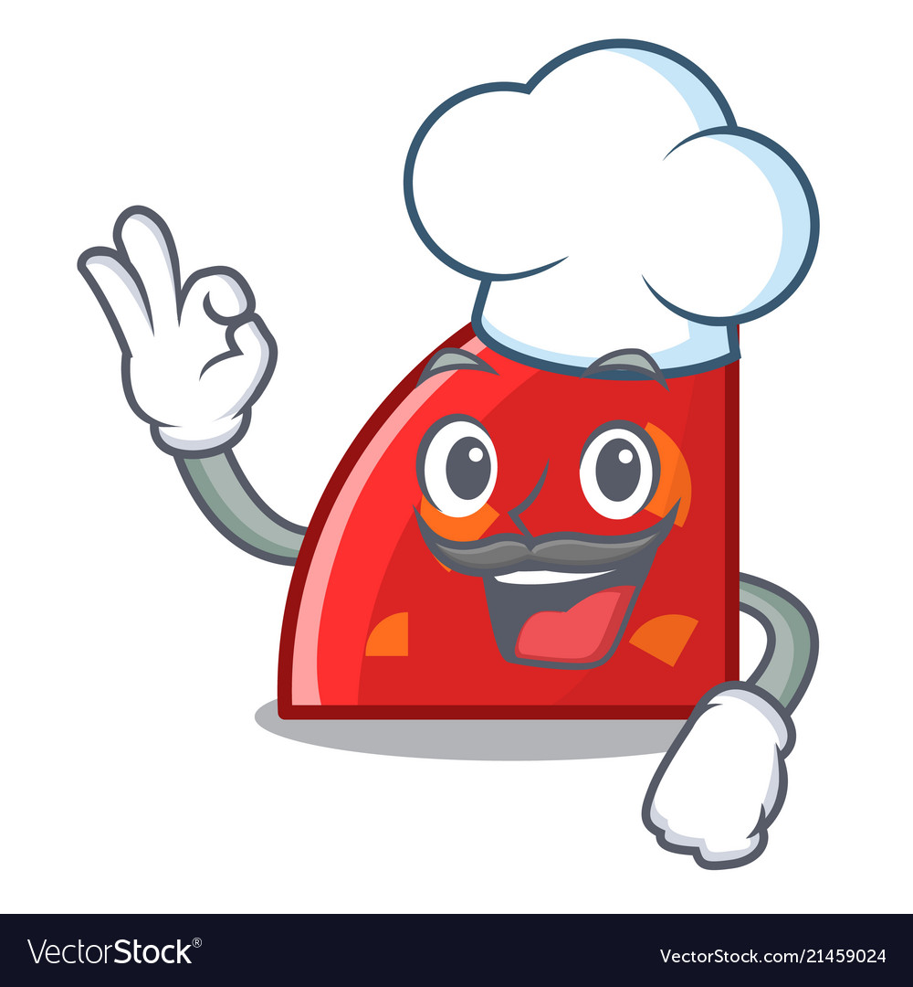 Chef quadrant character cartoon style