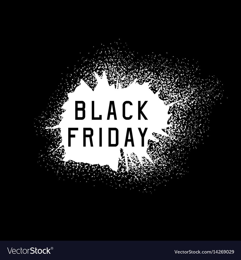 Black friday sale holiday grunge