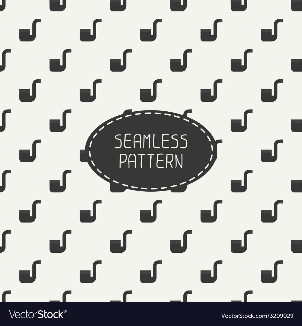 Seamless retro pattern with vintage hipster
