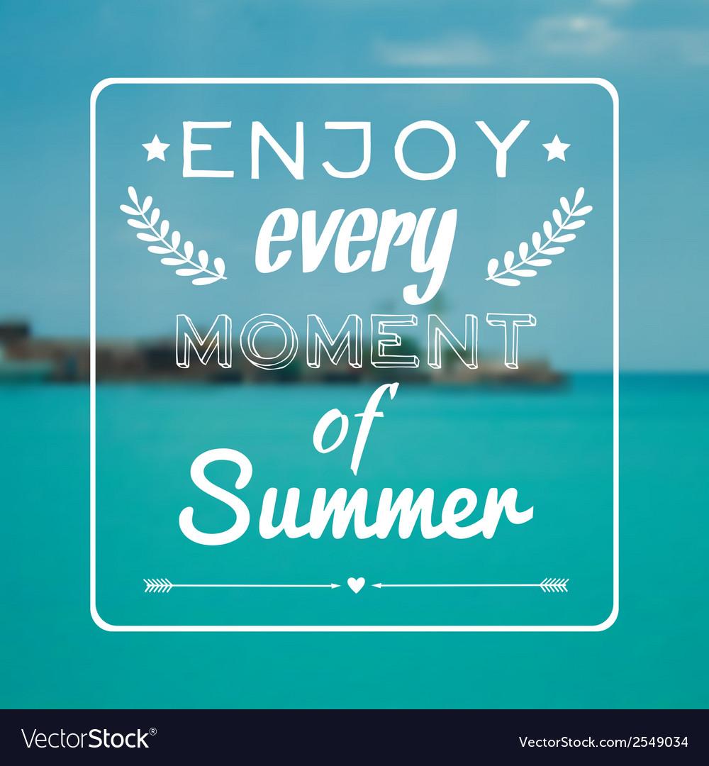 Blurred summer landscape background with