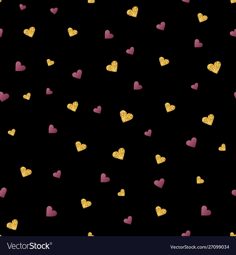 Valentines day seamless pattern background