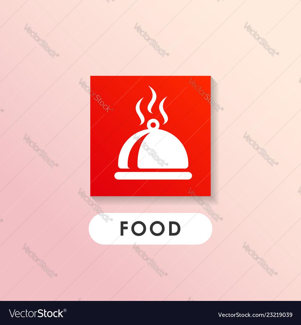 Dish icon design cook icon design