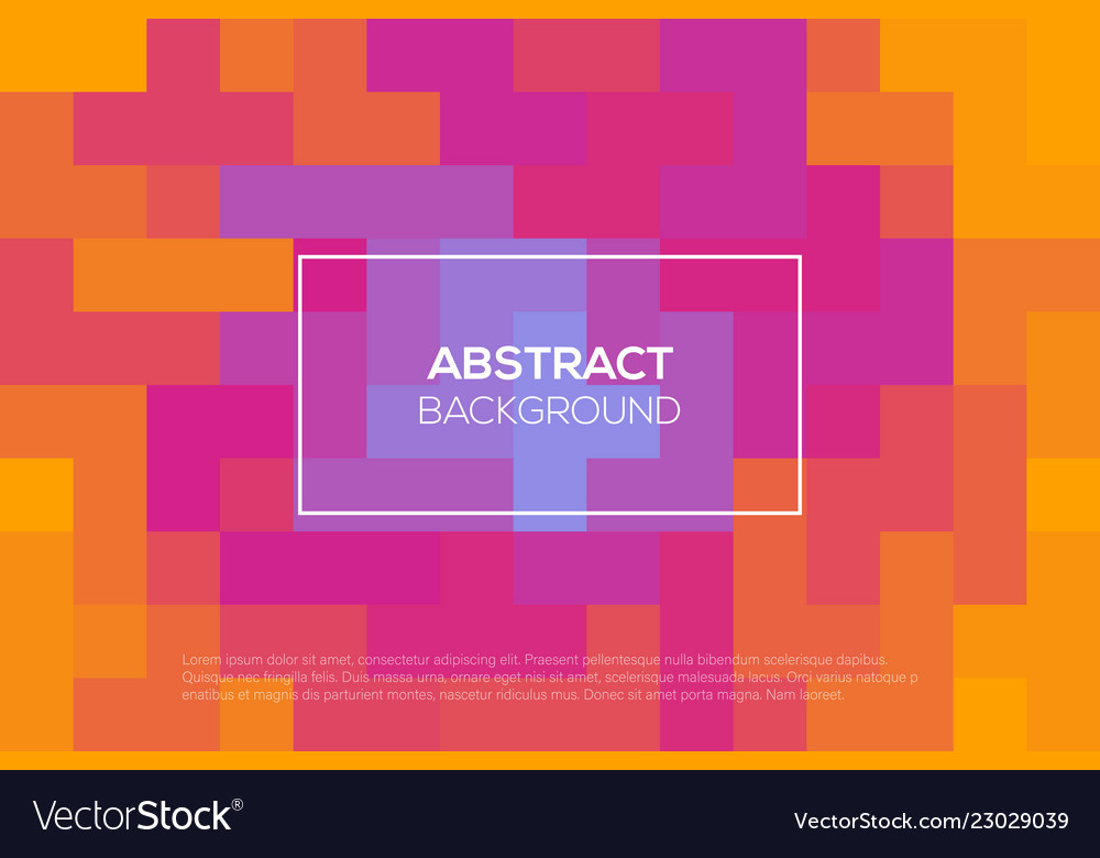 Modern futuristic abstract landing page design