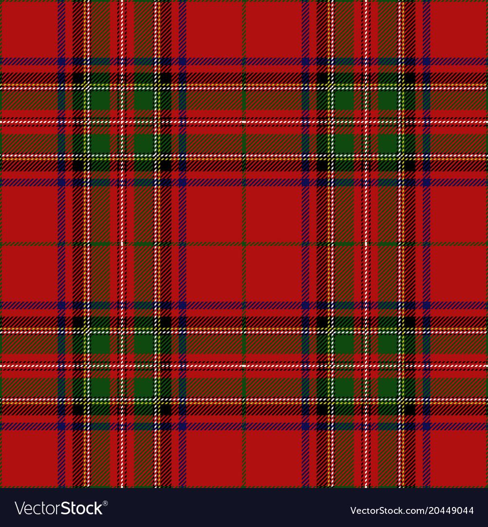 Clan Scottish Tartan Plaid Vector Image