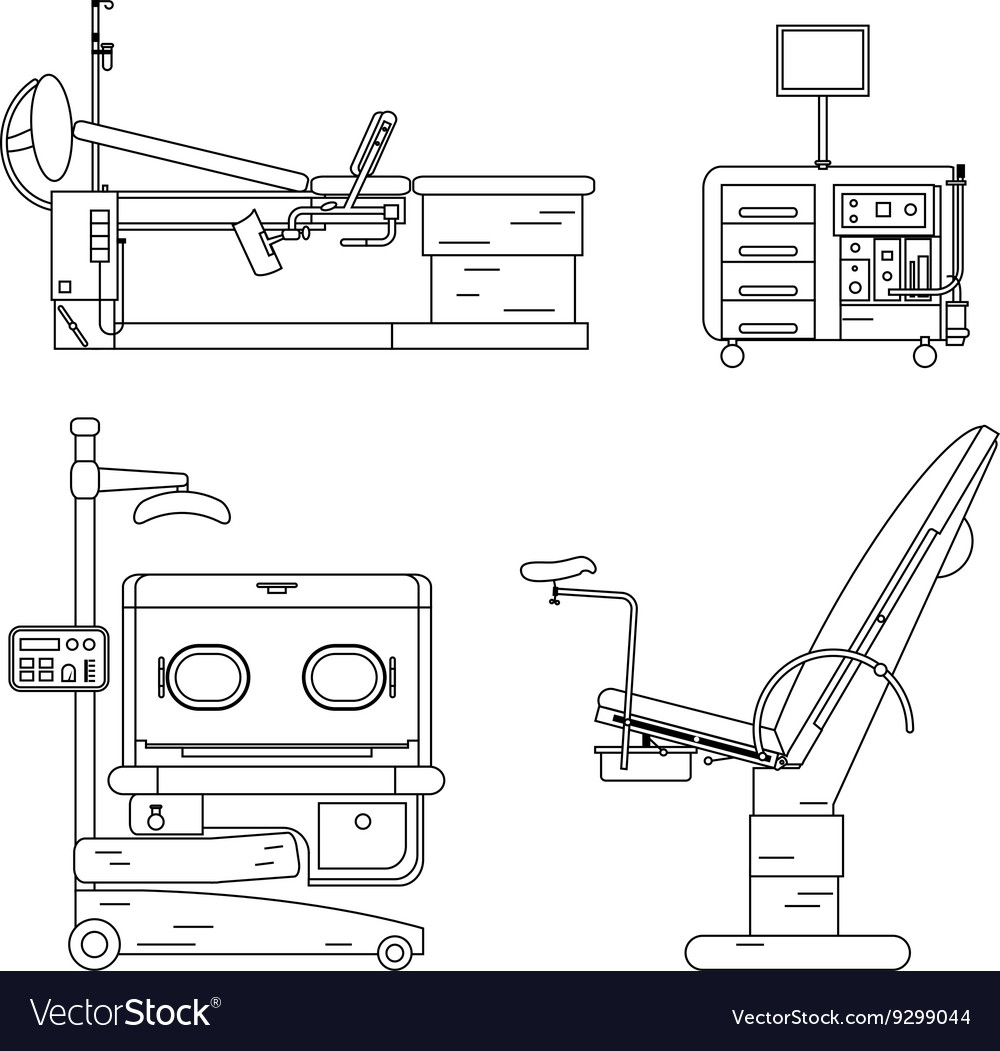 Medical equipment set Obstetrics And Gynecology