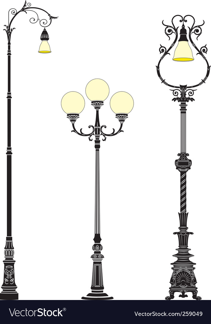 photo image stock colourbox lamps lamp street old
