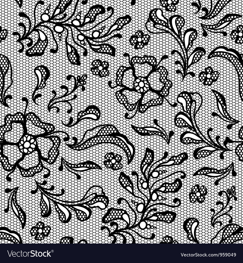 Vintage lace background ornamental flowers texture