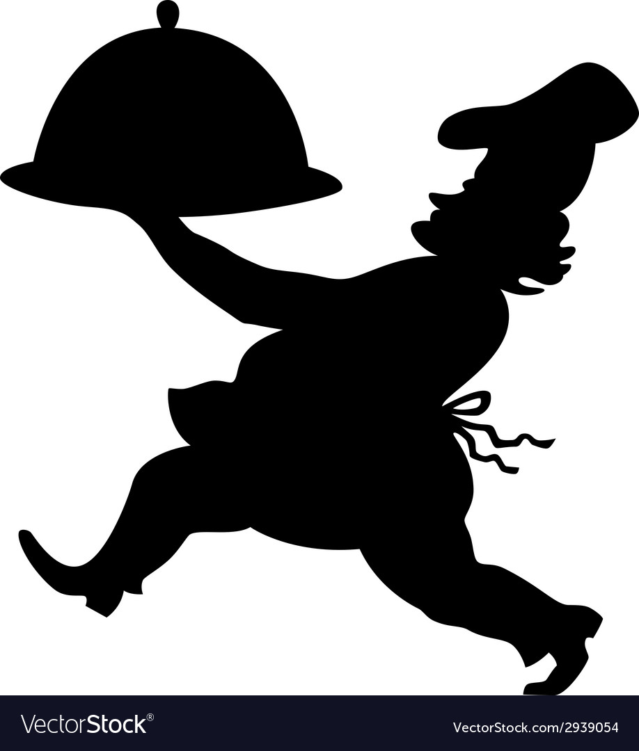 Cook silhouette