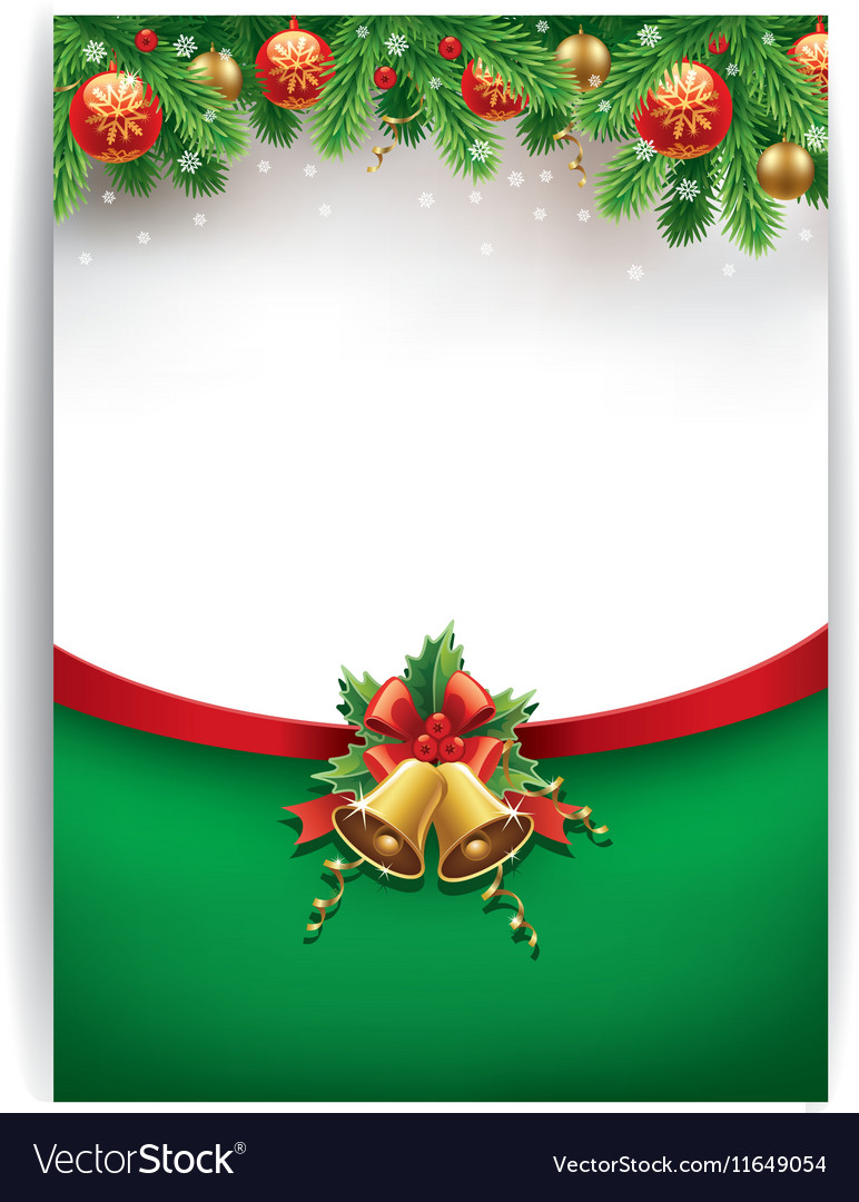Merry chrismas background with place for text